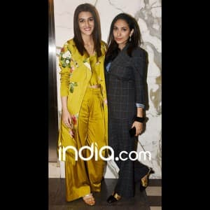 Kriti Sanon, Divya Khosla, Yami Gautam glam up the Padman special screening