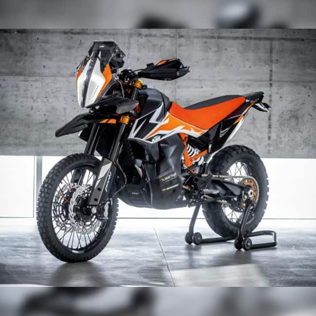 KTM 790 Adventure R Prototype engine