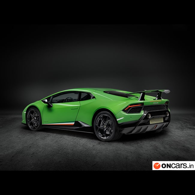 huracan performante is powered by a 5 2 litre v10 engine which cranks out 640 bhp of power with. Black Bedroom Furniture Sets. Home Design Ideas