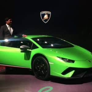 Lamborghini launches its fastest car Huracan Performante in India!
