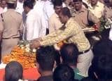 Sukma Attack: Rajnath Singh and families pay last respects to martyred jawans!