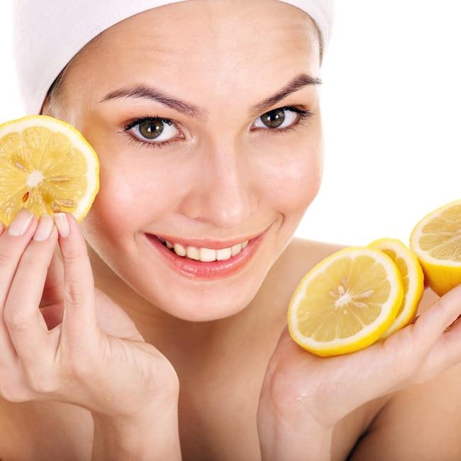 Lemon enhances your beauty