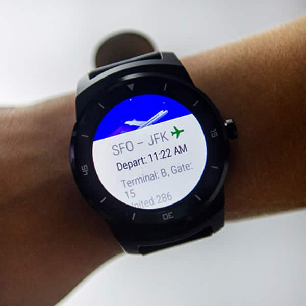 LG G Watch R has a good battery life