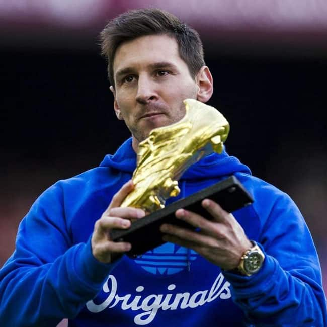 Lionel Messi is the first player to win 3 European Golden ...