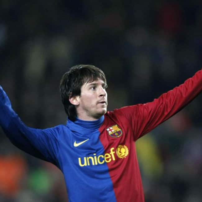Lionel Messi represented Barcelona officially at the young ...