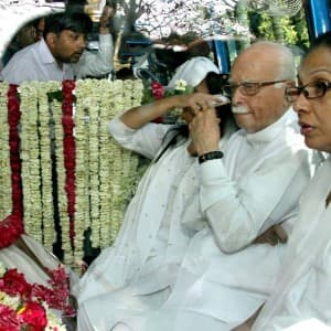 BJP veteran leader LK Advani's wife Kamla Advani last rites performed