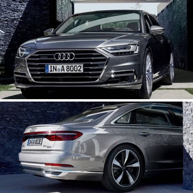 Luxury Features Of New Audi A8