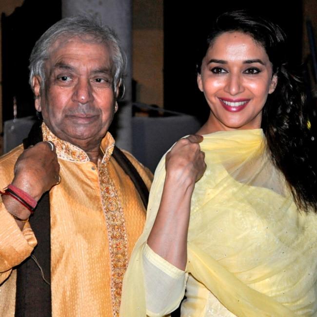 Madhuri Dixit and Birju Maharaj