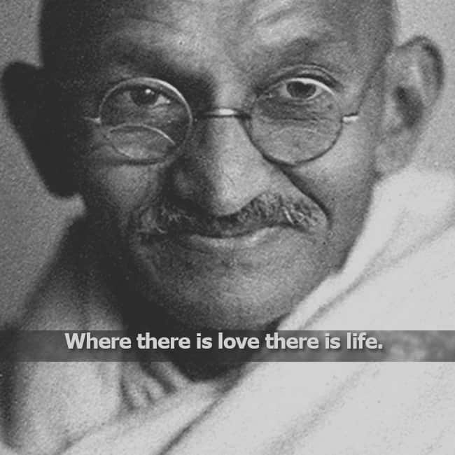 Gandhi Quotes On Love Gorgeous Mahatma Gandhi's Quote About Love  Mahatma Gandhi's 70Th Death