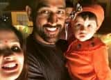 PICS: Daddy Mahendra Singh Dhoni and mommy Sakshi celebrate daughter Ziva's birthday in Mussorie!
