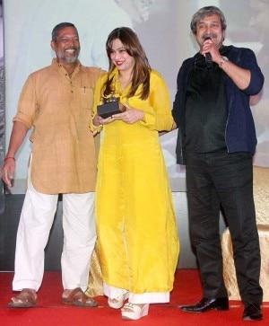 Natasamrat success party: Nana Patekar and Mahesh Manjrekar celebrate!