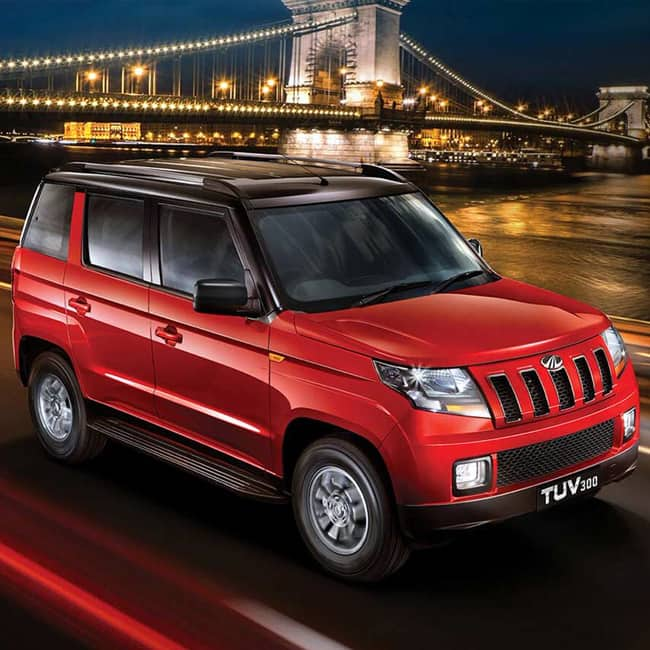 Mahindra & Mahindra Ltd launches luxurious high-end 'T10' variant of the Mahindra TUV300