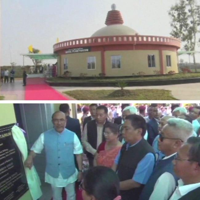 Manipur CM N  Biren Singh inaugurates Imphal Planetarium
