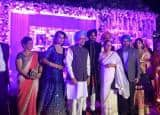 Harbhajan Singh and Geeta Basra Wedding Reception Pictures: Narendra Modi, Dr. Manmohan Singh bless couple