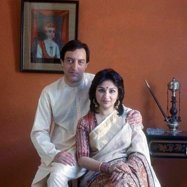 Mansoor Ali Khan Pataudi's wife Sharmila Tagore | 8 most ...