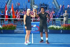 Leander Paes-Martina Hingis become US Open 2015 Mixed Doubles champions! See Pictures