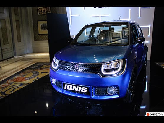 The new Maruti Ignis comes with a quirky design which signifies the tall boy stance of this compact crossover that enhances the overall design of the car. This new urban compact vehicle is premium not only on the exterior front but also on the inside.