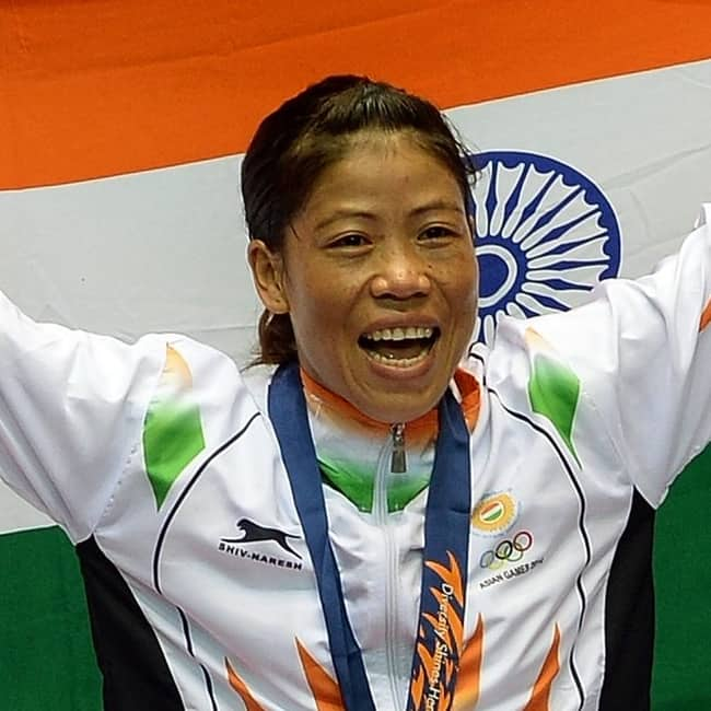 Mary Kom clinches gold medal at Asian Boxing Championships