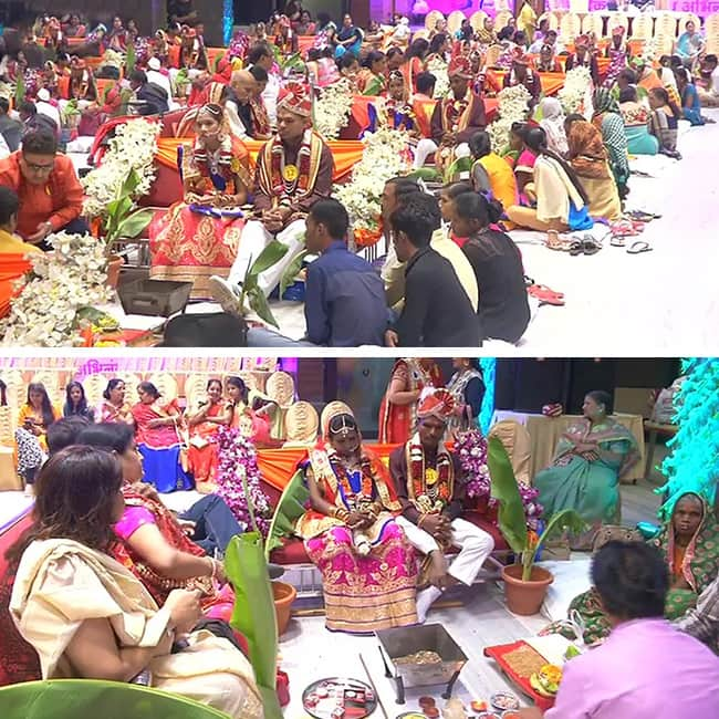 Mass wedding ceremony for differently abled in Gujarat