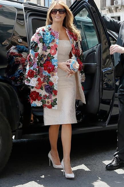 Melania Trump during G  summit