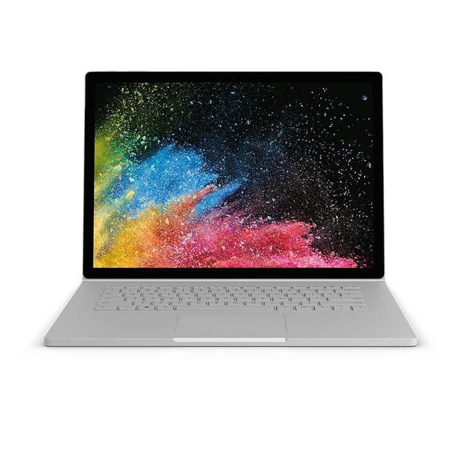 Microsoft Surface Book 2 storage