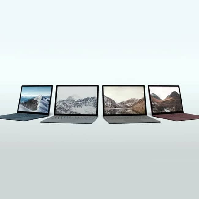Microsoft's Surface Laptop flaunts a 13.5-inch PixelSense display