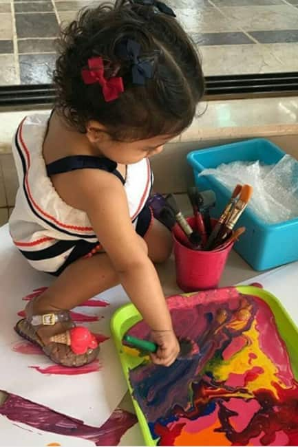 Misha Kapoor on her first painting