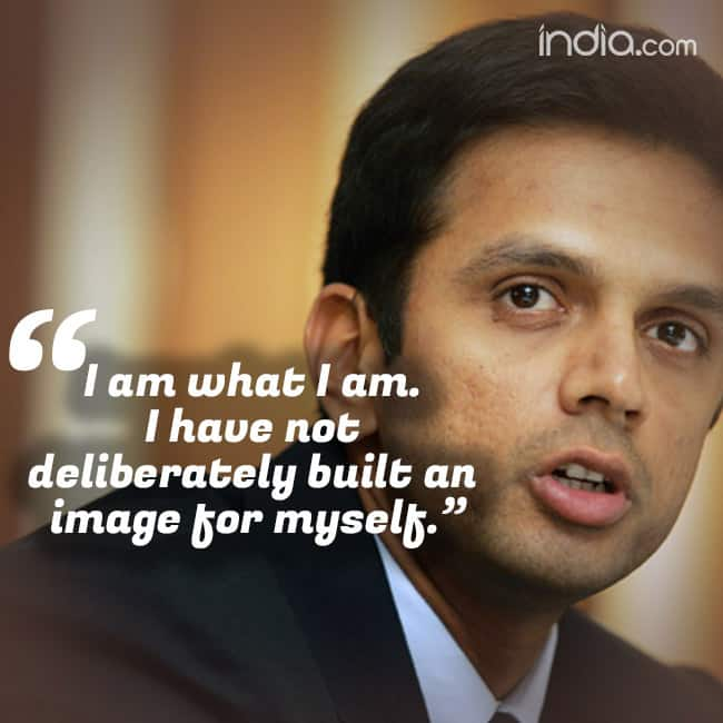 Motivational quote by Rahul Dravid