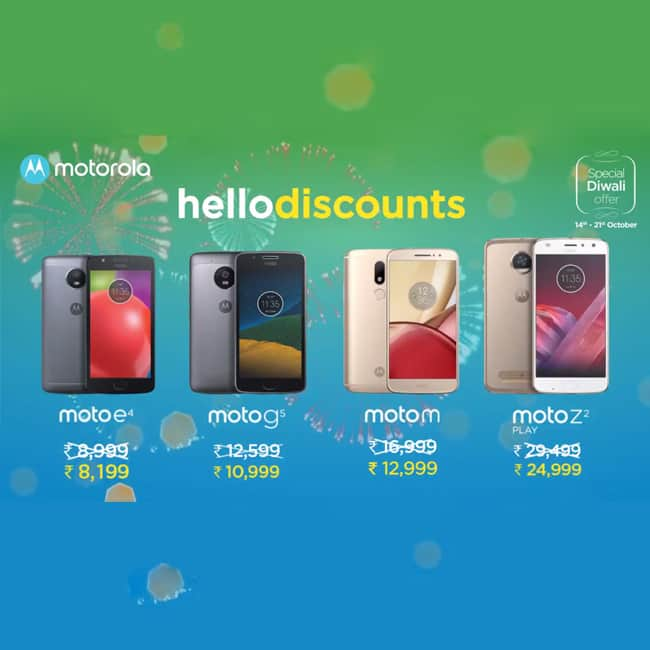 Motorola slashes prices of some range of Moto smartphones for limited period