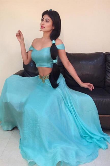 Mouni Roy turns Disney Jasmine Princess, and we can't get