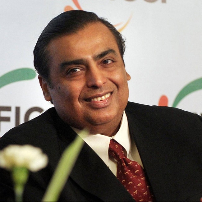 Mukesh Ambani tops the list of Forbes List of Billionaires in India