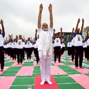 International Yoga Day 2016: This is how Narendra Modi and nation celebrated yoga day