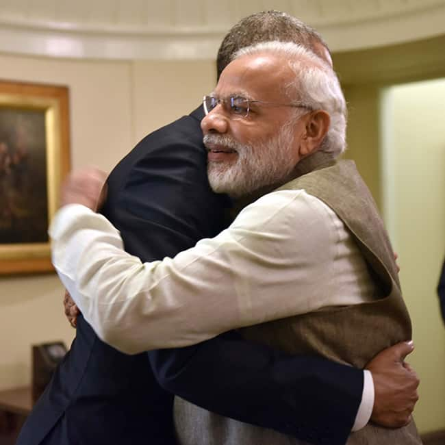 Narendra Modi clicked with Barack Obama at White House