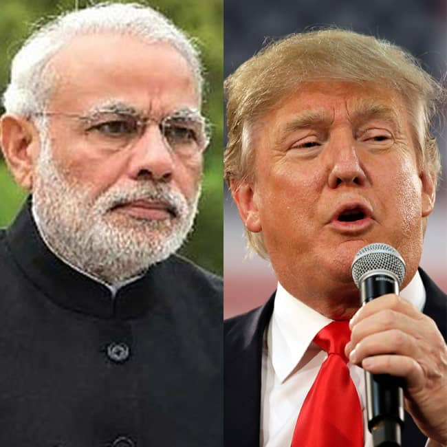 Narendra Modi could talk about H1B visa to US President Donald Trump