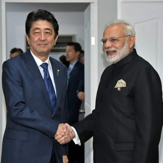 Narendra Modi holds bilateral dialogues Shinzo Abe and Malcolm Turnbull