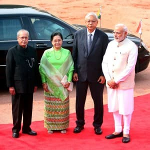 Myanmar President Htin Kyaw on two day visit to India, holds meeting with Narendra Modi