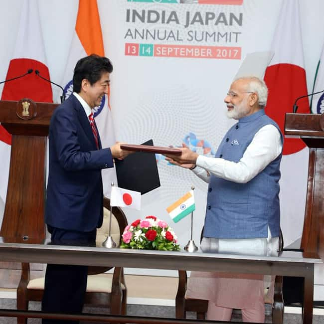Narendra Modi, Shinzo Abe sign 15 bilateral agreements between India, Japan today