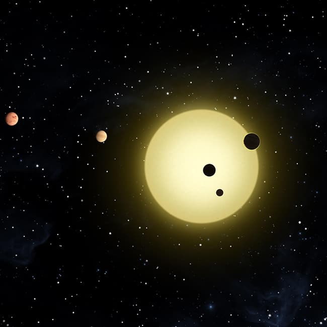 NASA found seven Earth sized planets orbiting the same star