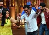 Nawazuddin Siddiqui and Sohail Khan promote 'Freaky Ali' on the sets of 'Comedy Nights Bachao'