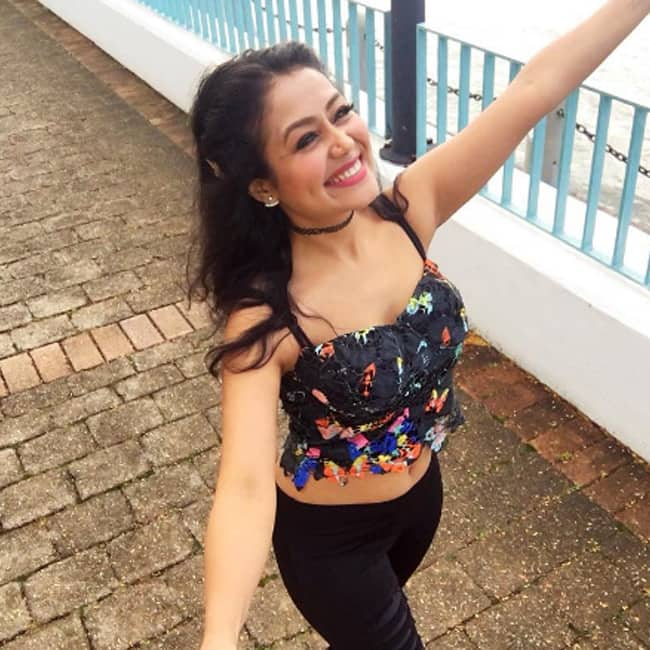 Neha Kakkar snapped in Brisbane