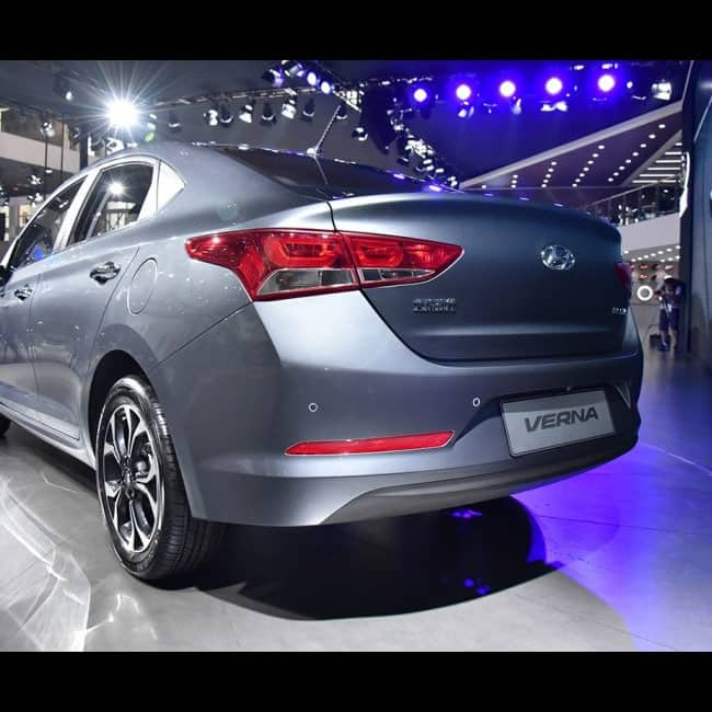 Top Of The Line Hyundai: New Hyundai Verna 2017 Will Feature A Touchscreen