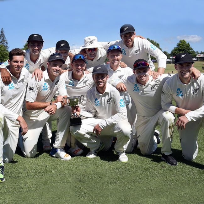 New Zealand beat West Indies by 240 runs in 2nd test match