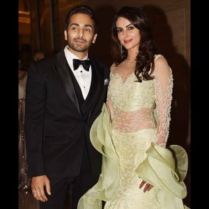 Ex-Bigg Boss contestant Mandana Karimi's wedding reception was shining bright with stars of Bollywood and TV industry!