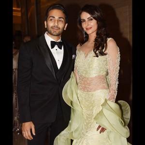 Ex-Bigg Boss contestant Mandana Karimi's wedding reception was shining bright with stars of Bollywood and TV industry!