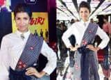 IN PICS: Nimrat Kaur just did the coolest sari of the season at Balaji Telefilms App launch event!