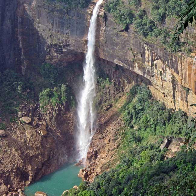 Top 10 Place To Visit In Kodaikanal India Tourism Tat: Nohsngithiang Falls In East Khasi Hills District Of