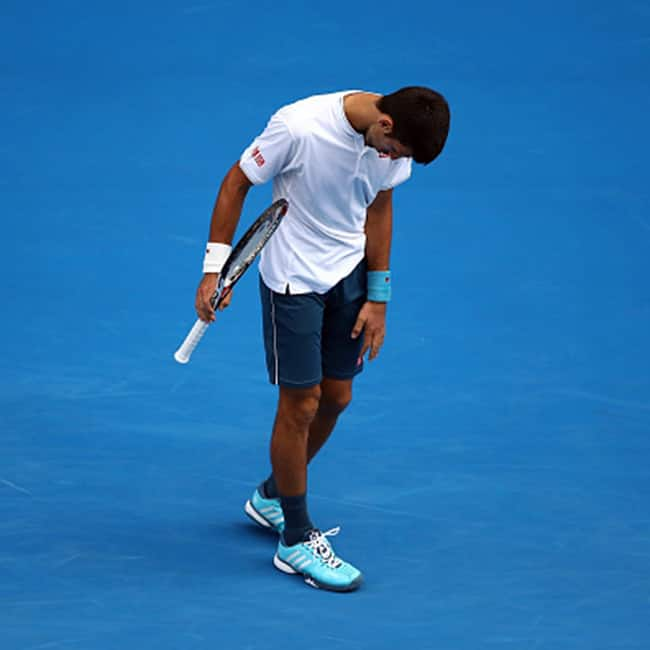 Novak Djokovic crashed out of Australian Open 2017
