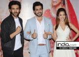 IN PICS: Nushrat Bharucha, Sunny Singh and Karthik Aryan celebrate the success of Sonu Ke Titu Ki Sweety
