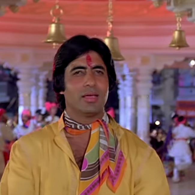 O Sheronwali song from Suhaag movie