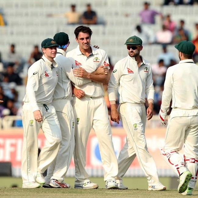P Cummins clinches L Rahul   s wicket